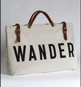 Forestbound WANDER Canvas Utility Bag - Liz & addie
