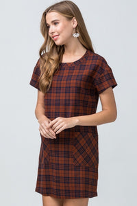 Plaid Dress - Plus - Liz & Addie