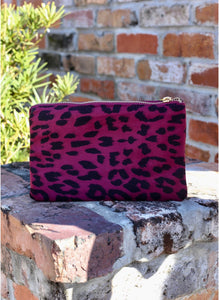 Liz Crossbody Bag - Wine Leopard - Liz & addie