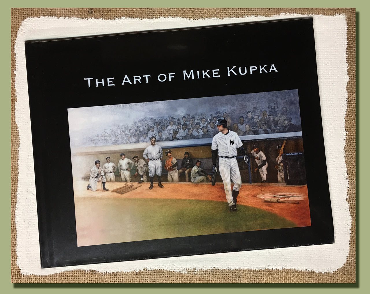 """The Art of Mike Kupka"" book"