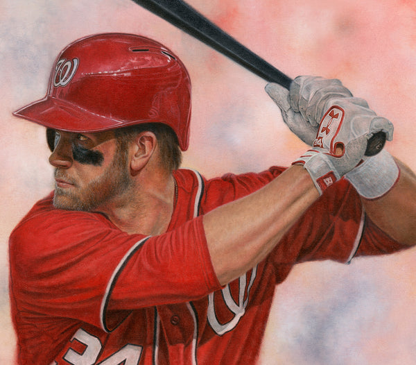 Bryce Harper - Oil on Canvas 20x30
