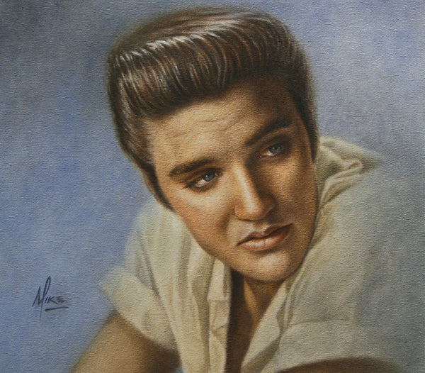 Elvis Presley - Oil on Canvas 14x16