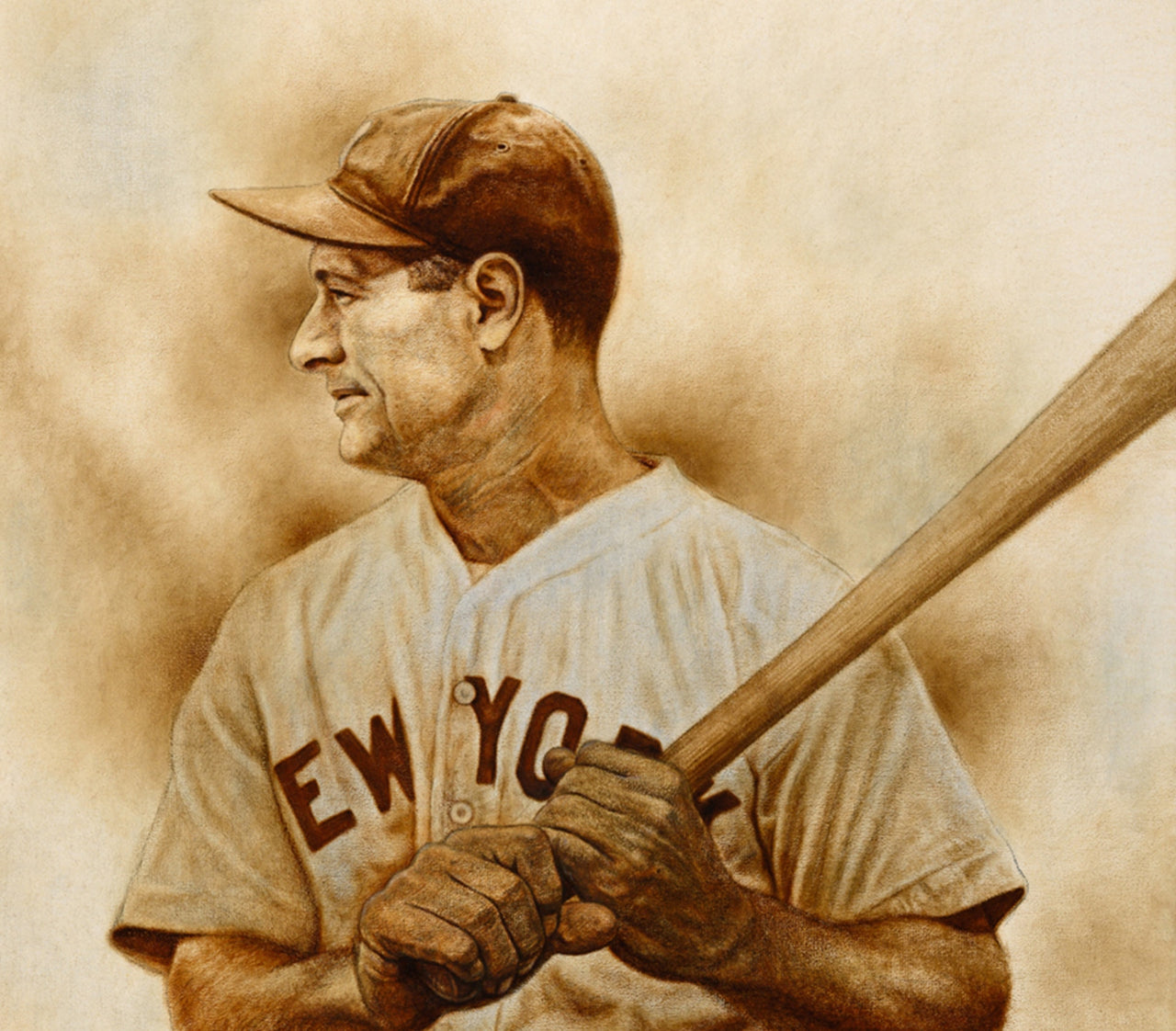 Gehrig - Oil on Canvas 16x20