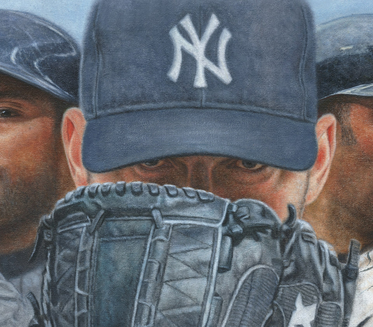 """Homegrown Champions"" - Oil on Canvas 12x36"