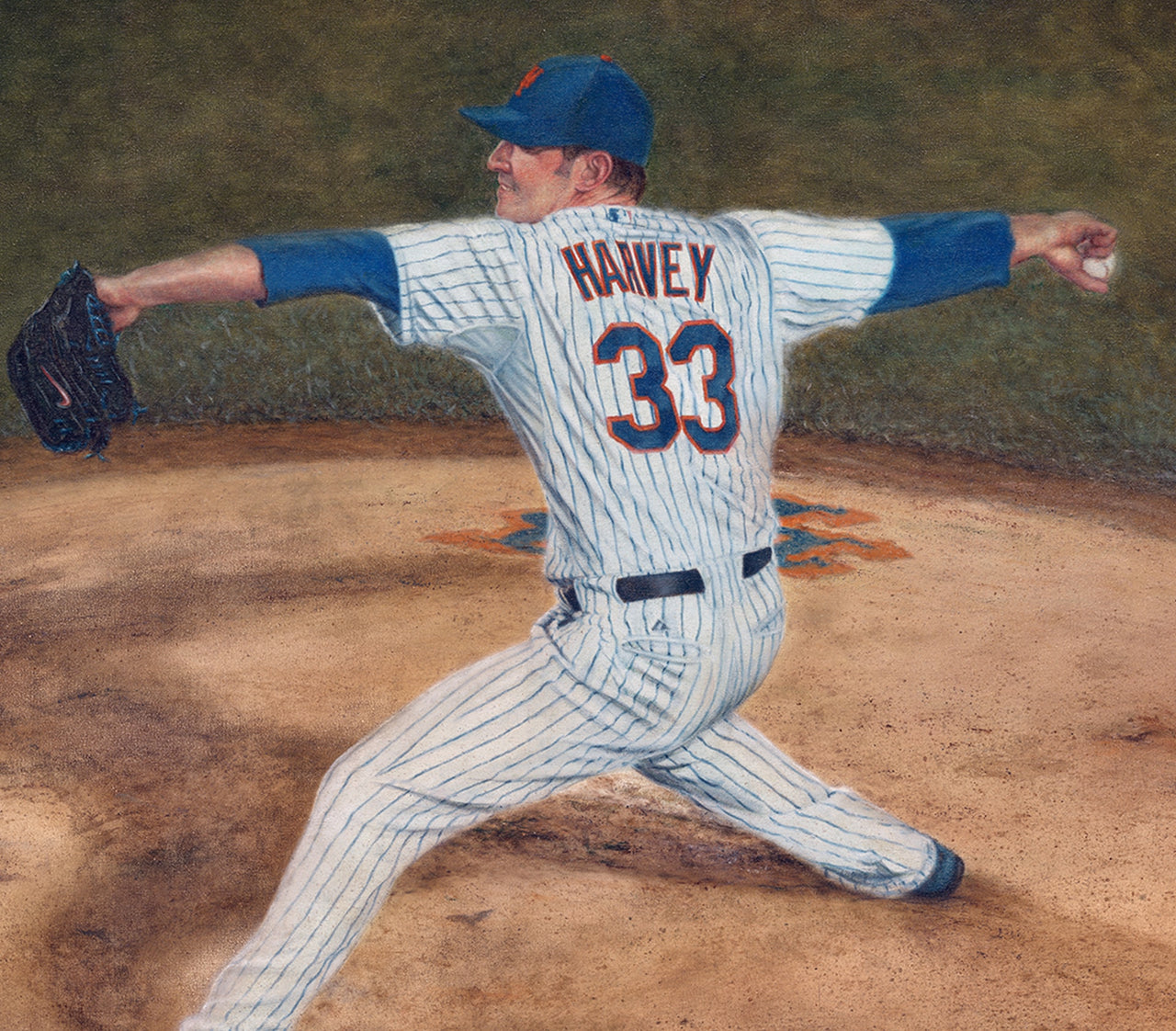 Matt Harvey - Oil on Canvas 26x40
