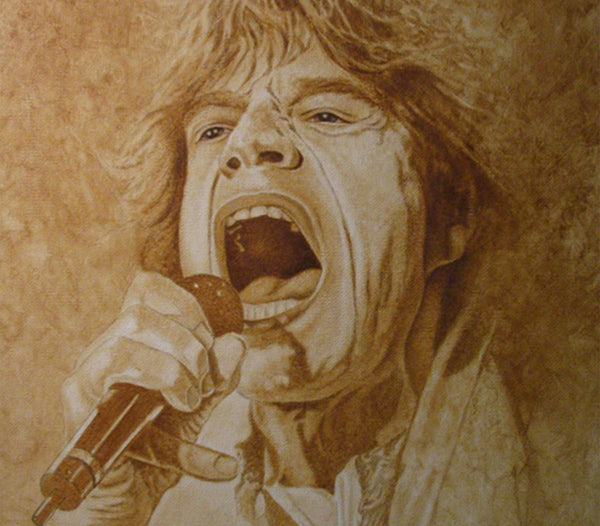 Mick Jagger - Oil on Canvas 16x20