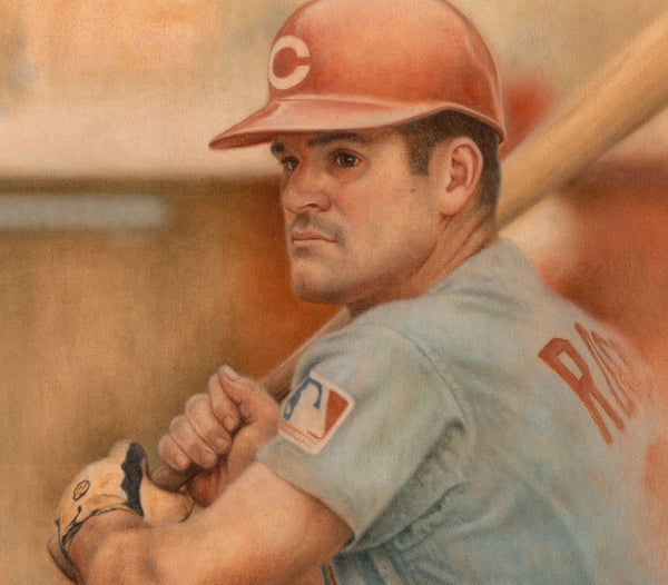 Pete Rose - Oil on Canvas 16x20