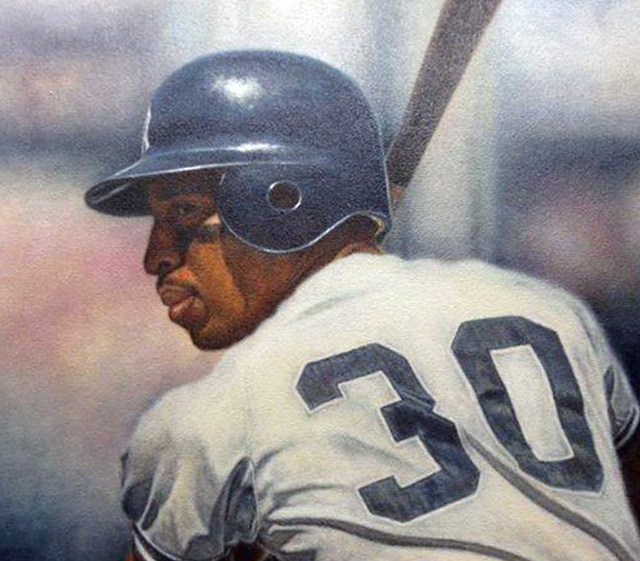 Willie Randolph - Oil on Canvas 16x20