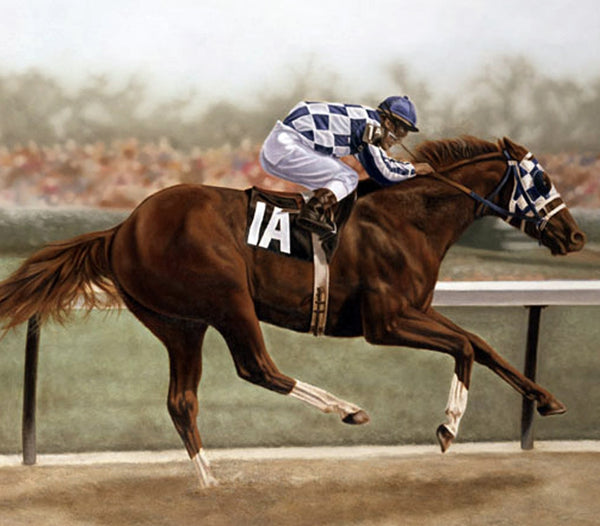 Secretariat - Canvas
