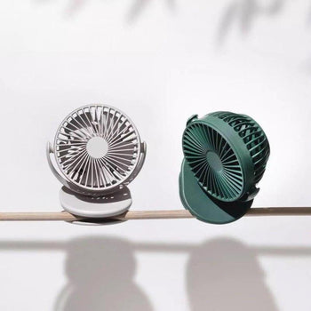 Mini ventilateur à clipser TATOUMI