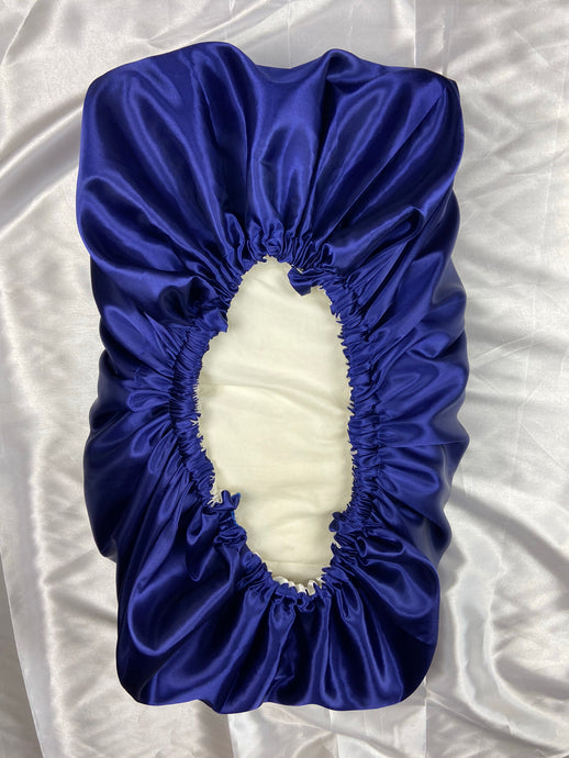 Reversible Satin Pillow bonnet