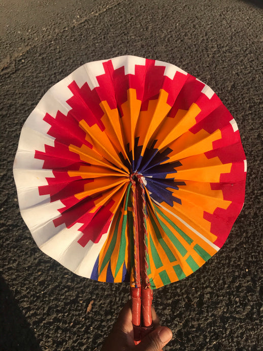 FORTUNE LEATHER FAN freeshipping - ENA