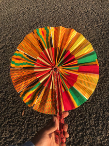 ZURI LEATHER FAN freeshipping - ENA