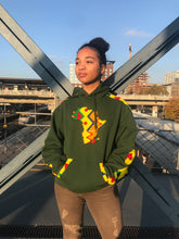 Charger l'image dans la galerie, GREEN AFRICAN MAP HOODIE freeshipping - ENA