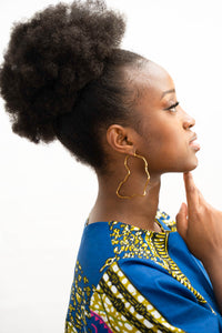 African Hoop earrings freeshipping - ENA