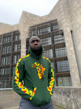 Load image into Gallery viewer, Green African Map Hoodie freeshipping - ENA