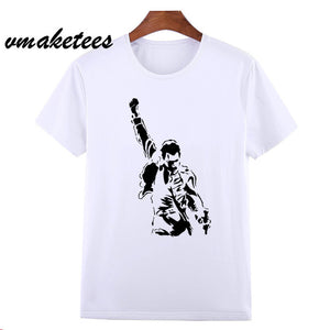 Asian Size Freddie Mercury Heavy Rock Top 100 Band Queen T T Shirt Sho Cool Vintage Place
