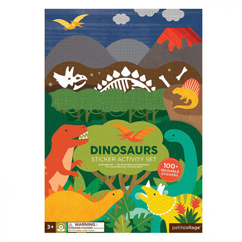 Sticker activity set - dinosaurs