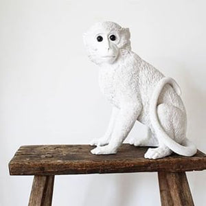 &Klevering, spaarpot - monkey white