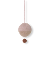 Afbeelding in Gallery-weergave laden, Ferm Living, muziekje - knitted ball pink/gold