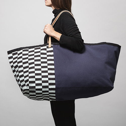 Ferm Living, big bag Herman - blue