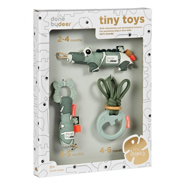 Done by Deer, tiny tropics toys - giftbox
