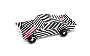Candylab, houten auto -  Ghost
