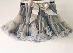Fluffy, tutu - Misty Grey