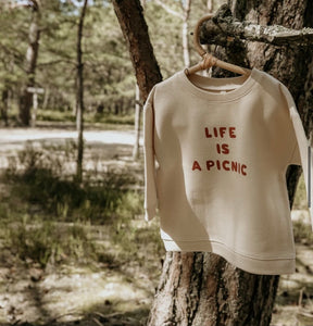 Organic Zoo, sweater - life is a picnic