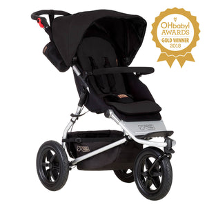 Mountain Buggy, Urban Jungle - black
