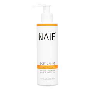 Naïf, grown-ups verzachtende bodylotion