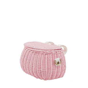 Olli & Ella, mini chari bag - pink
