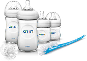Avent, zuigfles startersset - natural