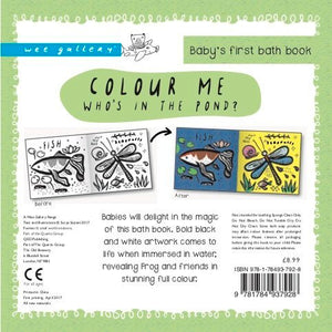 Wee Gallery, badboek - color me pond