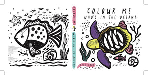 Wee Gallery, badboek - color me ocean