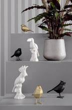 Afbeelding in Gallery-weergave laden, PT,  the black bird statue - small