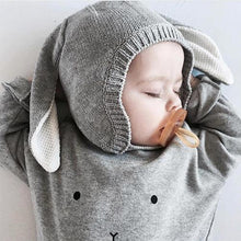 Afbeelding in Gallery-weergave laden, Organic Zoo, sweater - grey bunny