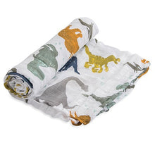 Afbeelding in Gallery-weergave laden, Little Unicorn, swaddle - dino friends
