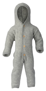 Engel Natur, wol-fleece pakje - light grey mélange