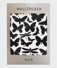 Afbeelding in Gallery-weergave laden, Ferm Living, muurstickers - butterflies black