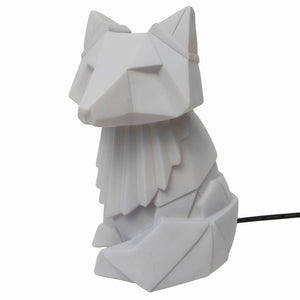 Disaster Designs, origami lamp - fox grey
