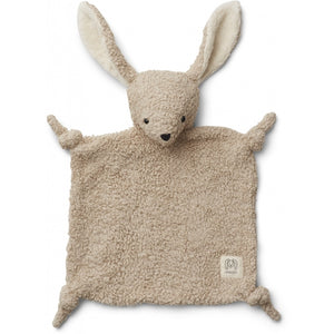 Liewood, knuffeldoekje lotte - rabbit pale grey