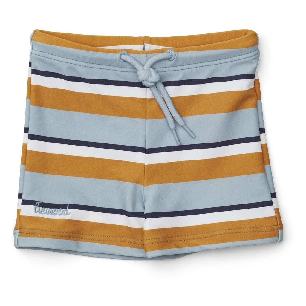 Liewood, zwembroek - otto sea blue stripe