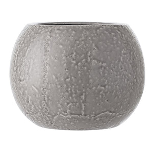 Bloomingville, bloempot - light grey glaze L