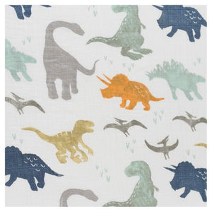 Little Unicorn, swaddle - dino friends
