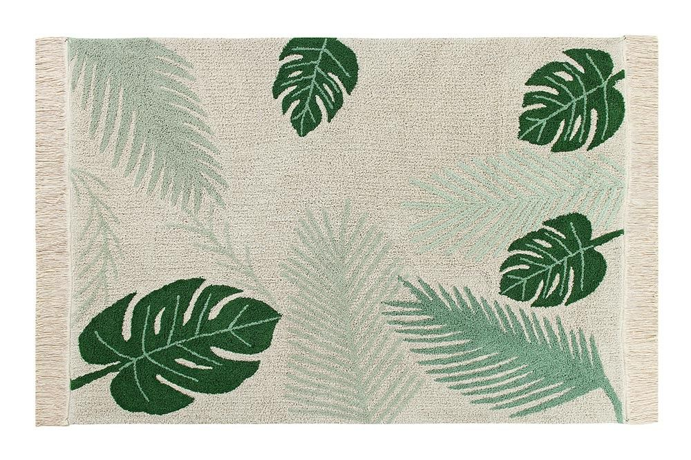 Lorena Canals, wasbaar tapijt - tropical green