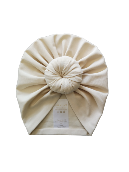 Mar.y.Luce, turban - cream