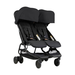 Mountain buggy, Nano duo buggy - black
