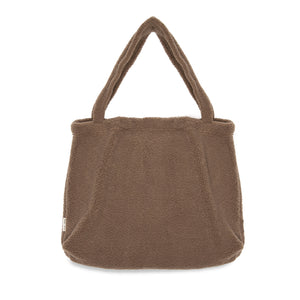 Studio Noos, mom bag - brown chunky teddy