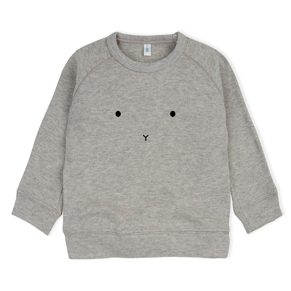 Organic Zoo, sweater - grey bunny